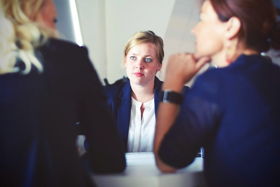 Show personality in interview